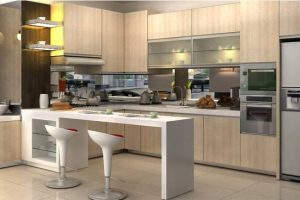 Tips Design Kitchen Set Mewah